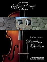 Symphony Brochure - CertainTeed