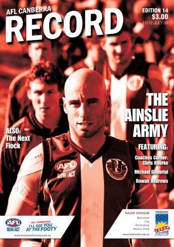 edition 14 - AFL Canberra