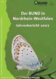 BUNDjahresbericht 2007 - Bund für Umwelt und Naturschutz ...