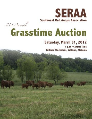 Grasstime Auction Saturday, March 31, 2012 - Barkingapple.com