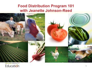 USDA Food - Minnesota School Nutrition Association