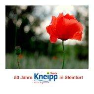 Festschrift - Kneipp-Verein Steinfurt e. V.