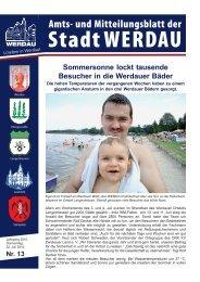 Sommersonne lockt tausende Besucher in die ... - Stadt Werdau