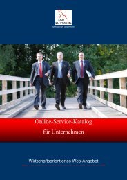 Online-Service-Katalog Für Unternehmen - eCOMM-Berlin