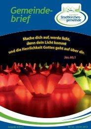 Gemeindebrief 04-12nn.indd - Kirchenkreises Eschwege