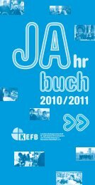 KEFB-LAG_JB_2010_11 - Erzbistum Köln