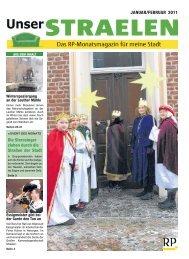 JANUAR/FEBRUAR 2011 Die Sternsinger ziehen durch ... - RP Online
