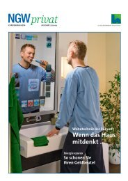 Kundenmagazin privat, Ausgabe 3/2009 (PDF 6 MB - ngw