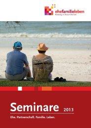 Angebote 2013 - Ehe-, Familien- und Lebensberatung im Bistum ...