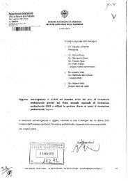 liegiune iiuiunoma della Sardegna - Consiglio Regionale della ...