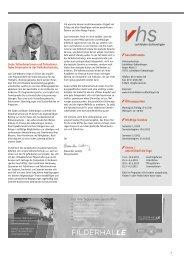 Download Programm 1/2013 - VHS - Leinfelden-Echterdingen