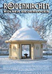 KBB Umschlag 0113 - RODENKIRCHEN Kölner Bilderbogen