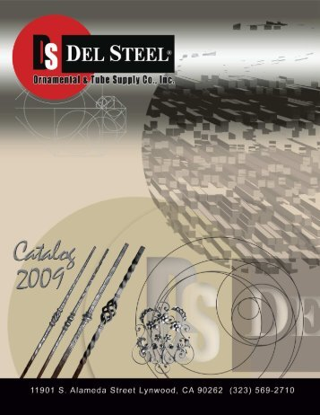 Download Catalog '09 PDF - DelSteel Inc.