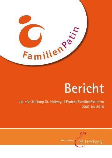 Abschlussbericht - kfd-Stiftung St. Hedwig