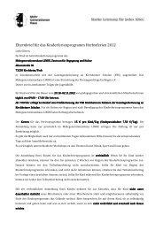 Elternbrief Herbst 2012 - Mehrgenerationenhaus LINDE Kirchheim
