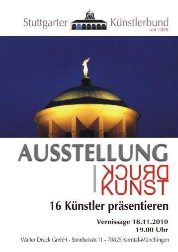 Richard Böhmer - Künstlerbund Stuttgart