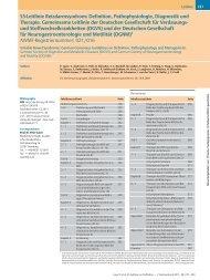 S3-Leitlinie Reizdarmsyndrom: Definition, Pathophysiologie ... - DGVS