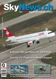 Exklusiv: Wie die Swiss ins 2009 fliegt Special: PC ... - SkyNews.ch