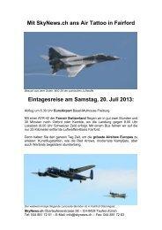 SkyTrip Fairford 2013 - SkyNews.ch