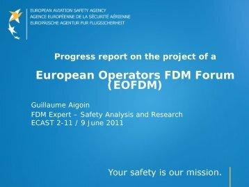European Operators FDM Forum (EOFDM) - EASA - Europa