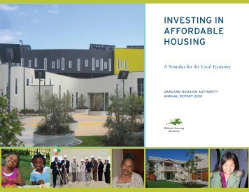 INVESTING IN AFFORDABLE HOUSING - Oakland Housing Authority