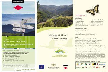 Wandern LIFE am Rohrhardsberg - Schwarzwaldverein