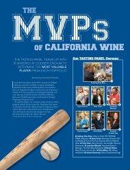 The MVPs of California Wine - HeartSmart Wine