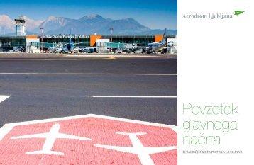 Povzetek glavnega načrta razvoja letališča - Aerodrom Ljubljana