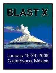 POSTERS - BLAST X - University of Utah