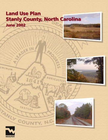 Land Use Plan – 2002 - Stanly County, North Carolina