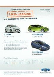 Leasing Angebote - Garage Seeberger