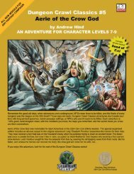 Dungeon Crawl Classics #5: Aerie of the Crow ... - Goodman Games