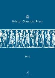 Classics Catalogue 2012_BW.indd - Bloomsbury Academic