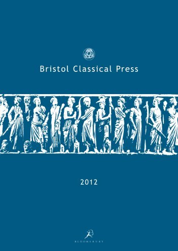 Classics Catalogue 2012_BW.indd - Bloomsbury Academic