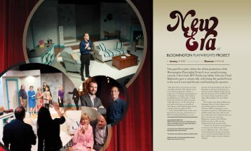 BLOOMINGTON PLAYWRIGHTS PROJECT AT - Bloom Magazine