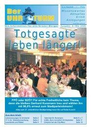 FPÖ oder BZÖ? Für echte Freiheitliche kein ... - FPÖ Steiermark