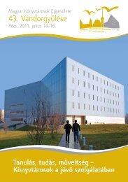 Tanulás, tudás, műveltség - Vándorgyűlés - Tudásközpont
