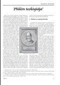 Philón teológiája Jézus Krisztus velünk való léte Az ókeresztény ... - Page 3