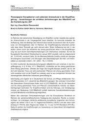 Thesenpapier Europäischer und nationaler Artenschutz in der ...