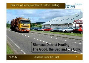 Bob McIlwraith, Lochgilphead Biomass District Heating ... - Base