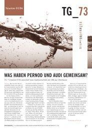 WAS HABEN PERNOD UND AUDI GEMEINSAM? - tg73.de