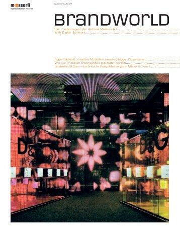 Das Kundenmagazin der Andreas Messerli AG ... - Messerli3D