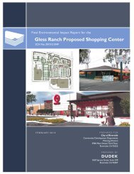 Gless Ranch Proposed Shopping Center - City of Riverside
