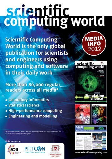 Media Pack - Scientific Computing World