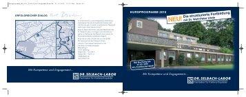 kursprogramm 2010 - Selbach