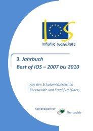 3. Jahrbuch RP Eberswalde 2007-2010 - Initiative Oberschule ...