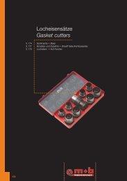 Locheisensätze Gasket cutters - Peddinghaus