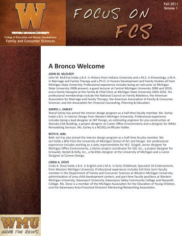 A Bronco Welcome - Western Michigan University