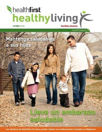 Lleve un embarazo saludable - Healthfirst NJ