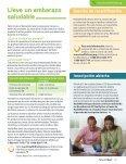 Lleve un embarazo saludable - Healthfirst NJ - Page 4